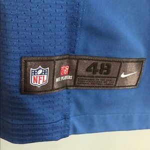 Nike Other - Calvin Johnson Nike Elite Lions Jersey Rare Patch